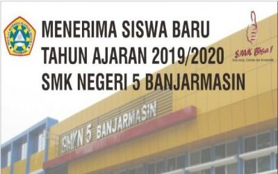 Informasi Pelaksanaan PPDB SMK Negeri 5 Banjarmasin Tahun 2019