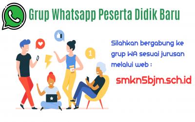 Grup Whatsapp Peserta Didik Baru 2020
